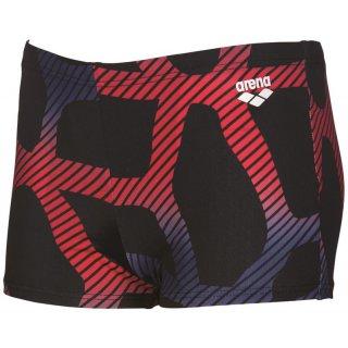 Arena Junior Garçon SPIDER Short Black / Red