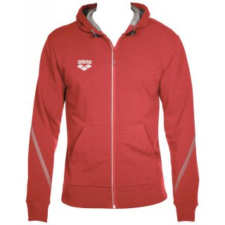 Veste Zippée Arena TL HOODED JACKET Red