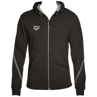 Veste Zippée Arena TL HOODED JACKET Black