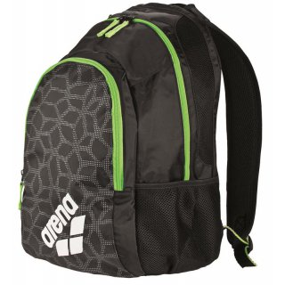 Arena Spiky 2 Backpack Black X-PIVOT / Fluo Green