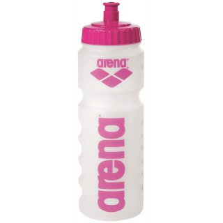 Water Bottle Arena GRIP Clear Pink