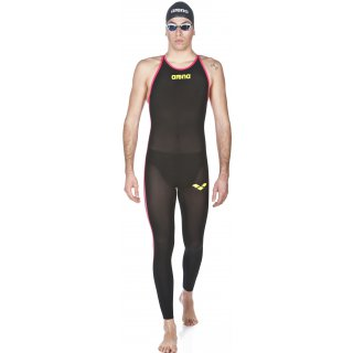 Arena Powerskin R-Evo+ Open Water Black / Fluo Yellow