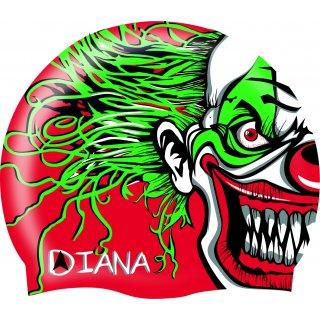 Bonnet Silicone de Natation Diana CLOWN