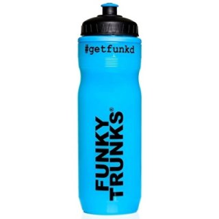 Water Bottle Funky Trunks Get Funk  Blue