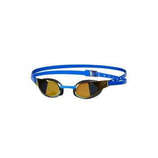 Speedo FS3 Elite Mirror Gold / Blue