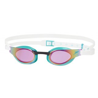 Lunettes de natation Speedo FS3 Elite Mirror Green / Purple