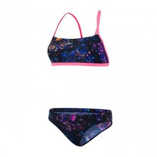3f9a538430643 Maillot de bain de natation Femme 2 Pièces Speedo diamondize 838C536 bleu