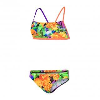 Maillot de bain de natation Femme 2 Pièces Speedo funk burst 838C561 orange 08162aaddcbe