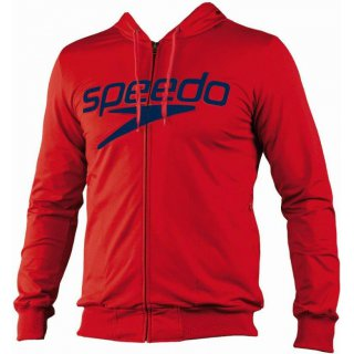 Sweat Veste Zippée Speedo MORITZ Rouge
