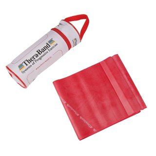 Thera-Band BANDE LATEX 2.5m Red