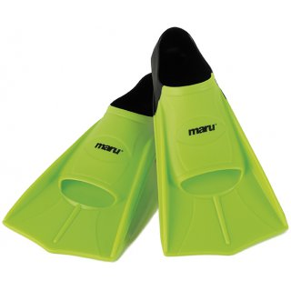 Palmes de Natation Maru NEON LIME BLACK
