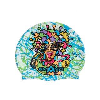 Bonnet Silicone de Natation Amanzi FANATIC