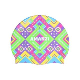 Bonnet Silicone de Natation Amanzi AZTECA