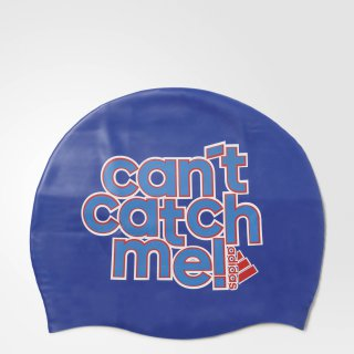 "Adidas SLOGAN CAP ""CAN'T CATCH ME"" Blue"