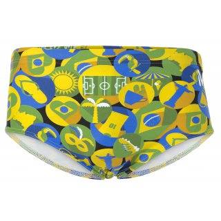 Maillot de bain Homme MP CARIMBO Green / Yellow