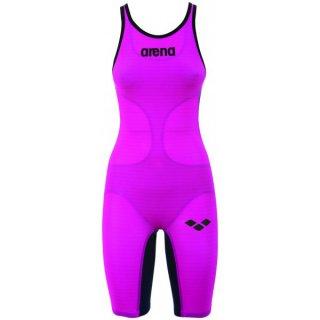 Combinaison de natation Femme Arena CARBON AIR Fushia Titanium Dos Fermé