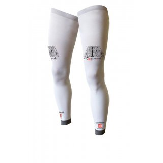 Compression Sportive Compressport FULL LEGS Blanc