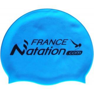 Bonnet de Natation Silicone FRANAT Bleu Ciel