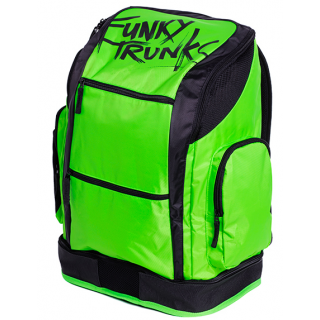Funky Trunks Backpack ELECTRIC LIME REBRANDED