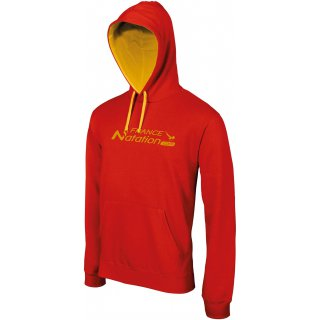 Sweat à capuche FRANAT ELITE Rouge