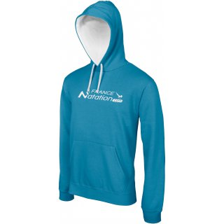 Sweat à capuche FRANAT ELITE Tropical Blue