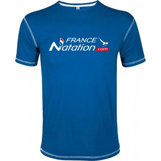 Tee Shirt Natation FRANAT Mustang Bleu Royal