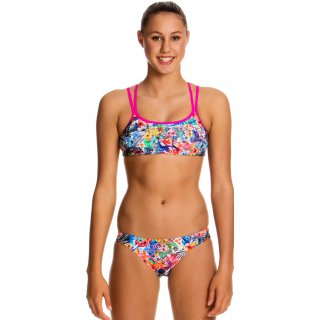 Funkita 2 pièces Fille BLOSSOM PARADISE Criss Cross