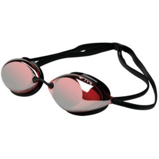 Lunettes de natation Tyr TRACER RACING MIRROR RED SILVER