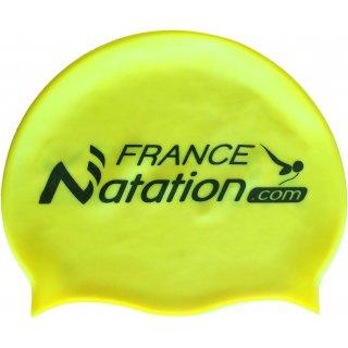 Bonnet de Natation Silicone FRANAT Jaune