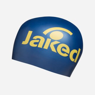 Bonnet Silicone de Natation Jaked ELITE Royal / Yellow