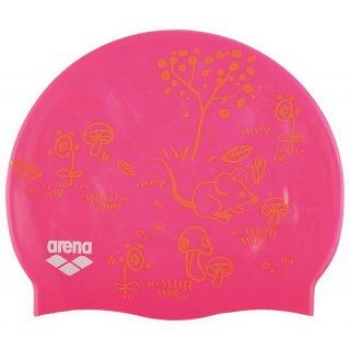Bonnet Silicone de Natation Arena PRINT 2 MAGISKA Fresia Rose