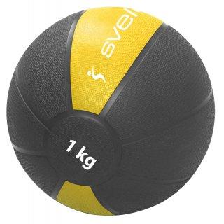 Renforcement Musculaire Sveltus MEDECINE BALL 1 KG Jaune