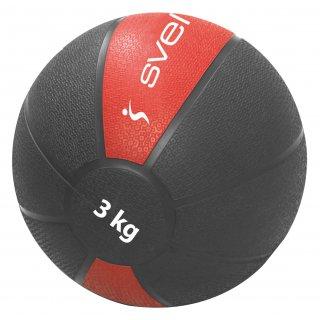 Renforcement Musculaire Sveltus MEDECINE BALL3 KG Rouge