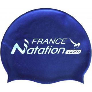 Bonnet de Natation Silicone FRANAT Bleu Foncé