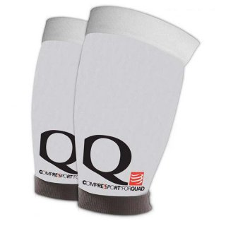 Compression Sportive Compressport QUAD Blanc