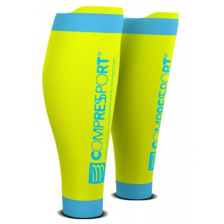 Compressport CALF R2 v2 Fluo Yellow