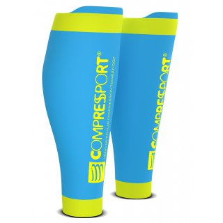Compression Sportive Compressport CALF R2  Ice Blue