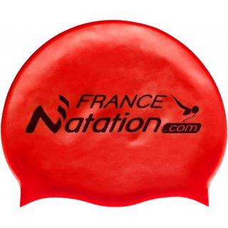 Bonnet de Natation Silicone FRANAT Rouge