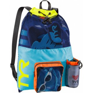 TYR BIG MESH MUMMY Backpack Blue / Yellow