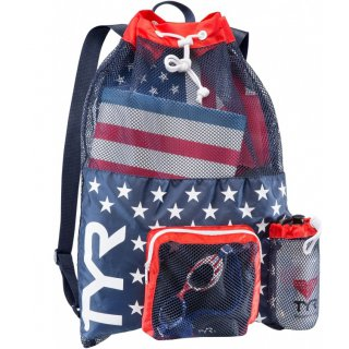 TYR BIG MESH MUMMY Red / Navy USA