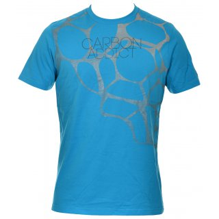 Tee Shirt Natation Arena CARBON ADDICT Bleu