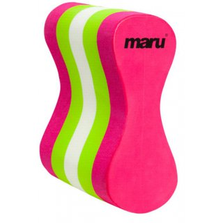 Pull Buoy Maru Tricolor Pink/Lime/White Senior