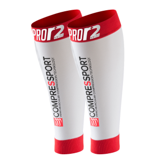 Compressport PRO R2 SWISS Blanc