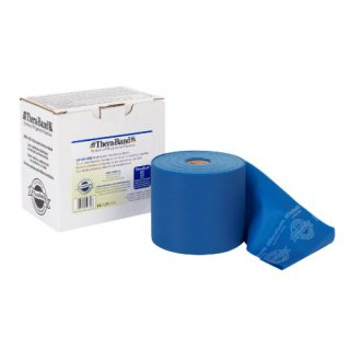 Renforcement Musculaire Thera-Band BANDE LATEX 45.5m Bleu