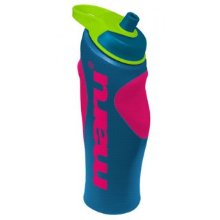 Water Bottle Maru Blue/Pink/Lime