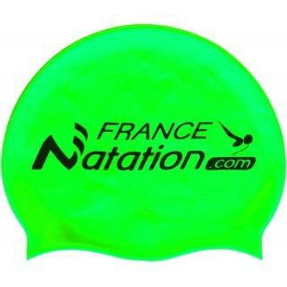 Bonnet de Natation Silicone FRANAT Vert