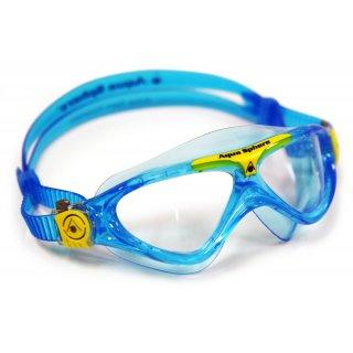 Lunette Aquasphere VISTA Junior Aqua / Yellow