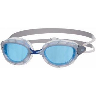 Zoggs Predator Silver / Blue / Tint